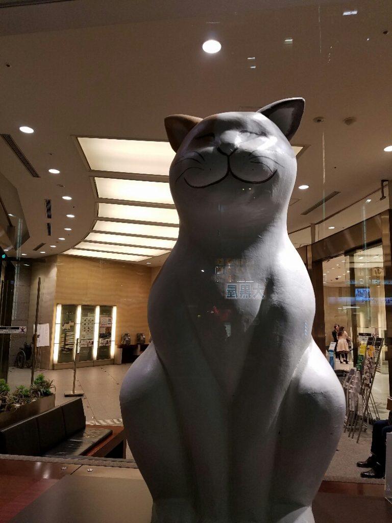 日本橋三越に福福しい猫が出現!...